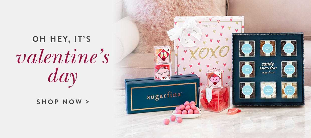 Oh hey, it's Valentine's Day. Shop our collection of Valentine's Day gifts that includes gummy candies, chocolates and more.